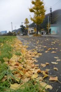 堅田神社付近の国道42号兼国道167号