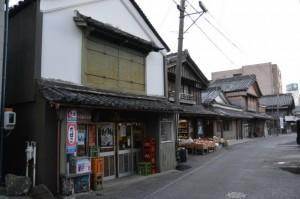 河崎本通り(伊勢市河崎)