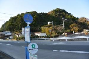 内城田大橋 バスのりば付近