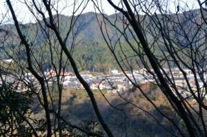 下久具浅間山(度会町下久具)付近からの眺め