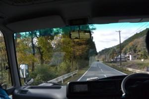 川口交差点(度会町川口)から旧小川郷小学校へ