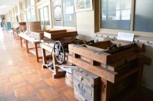 農機具、民具ほか(度会町ふるさと歴史館)
