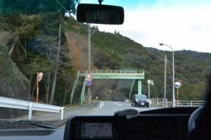栗原付近(旧小川郷小学校からバザールわたらいへ向かう途中)