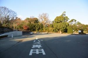 神宮徴古館ほかの駐車場