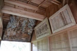 仙宮神社、画馬殿(南伊勢町河内)