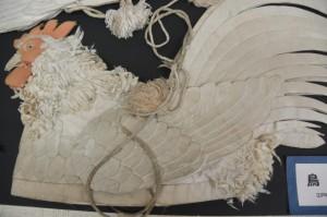 神楽の道具(鳥兜)(志摩市歴史民俗資料館)
