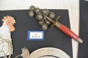 神楽の道具(鈴)(志摩市歴史民俗資料館)