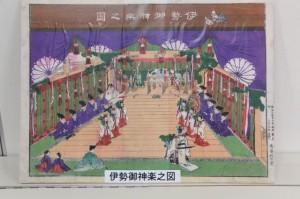 伊勢御神楽之図(志摩市歴史民俗資料館)