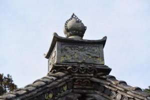 蓮華寺の観音堂(度会町棚橋)