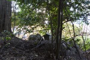 津布良神社(皇大神宮末社)付近の愛宕さん