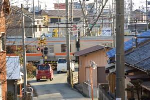 加良比神社参道入口付近からの遠望