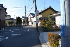 JR紀勢本線 高茶屋駅への分岐