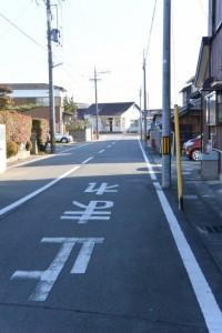 JR紀勢本線 高茶屋駅への分岐から駅方向へ