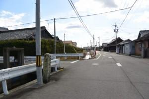 香良洲道の道標、伊勢-4