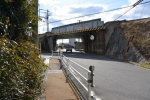 近鉄山田線の高架、伊勢-4