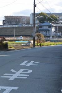 三重県立松阪商業高等学校の遠望