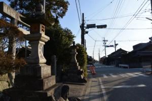 竹神社前交差点