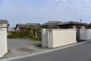 鳥羽藩本陣跡の石碑、伊勢-6(8045)