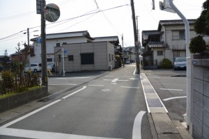 茶屋町(常磐町)の道標