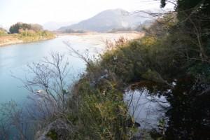 宮川と湧水池「姫の鬢水入れ」