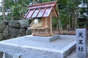 天王社、橘神社(伊勢市黒瀬町)