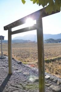 加努弥神社(皇大神宮末社)からの風景