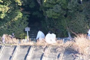 元始祭、鏡宮神社から朝熊神社への参進