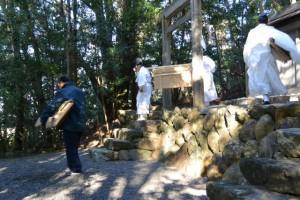 元始祭(朝熊御前神社、皇大神宮摂社)