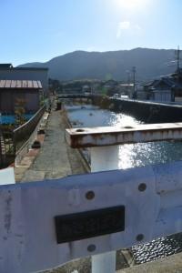 あさまばし(朝熊川)から遠望する朝熊ヶ岳