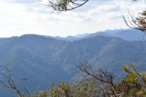 宇治岳道からの眺望