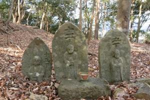町石群(宇治岳道)