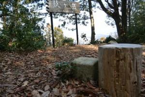 鼓ヶ岳山頂の三角点