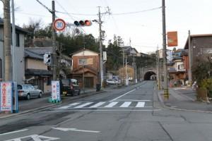 天神丘トンネル(伊勢市浦口)付近