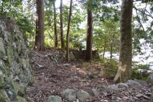 並大神社付近の石垣(大紀町崎)