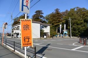 櫲樟尾神社(伊勢市楠部町)付近