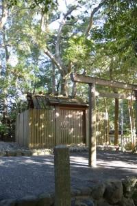 国津御祖神社(皇大神宮摂社)、(葦立弖神社(皇大神宮末社)を同座)