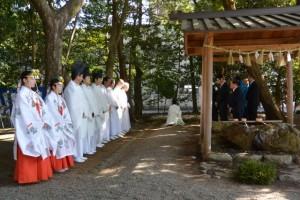例大祭(櫲樟尾神社)
