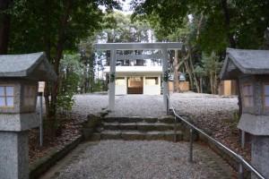 上田神社(伊勢市中村町)