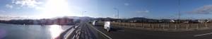 国道23号、勢田川橋(勢田川)