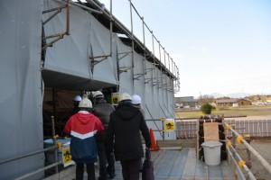 西脇殿(斎宮復元建築工事見学会)