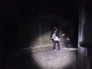 (5)大水神社(宇治青年団による寒参り(稲荷講))