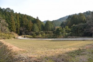 山田寺から伊勢自動車道の先へ