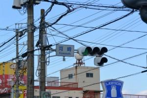 八間道路 河崎交差点(伊勢市河崎)