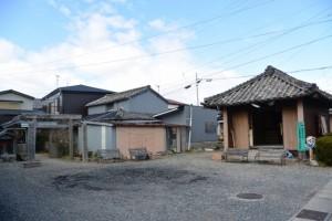 秋葉神社付近(伊勢市通町)