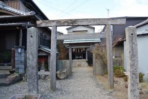 庚申堂と秋葉神社(伊勢市通町)