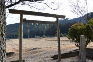 獅子頭安置所からの風景(度会町下久具)