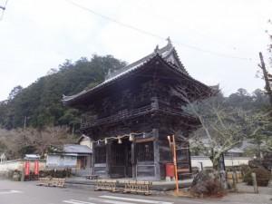 丹生大師 神宮寺の山門、仁王門(多気町丹生)