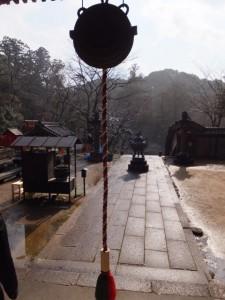 大師堂からの風景(丹生大師 神宮寺)