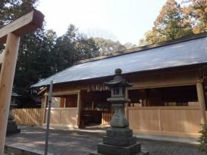 弥生に御遷座を迎える佐那神社(多気町仁田)