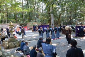 獅子神楽、市場と脇出(一之瀬神社)